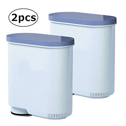 Wasserfilter für Saeco und Philips Kaffeevollautomaten, Aqua Clean für Saeco CA6903/00 CA6903/01 CA6903/99 CA6903 Kalkfilter (2 Stück)