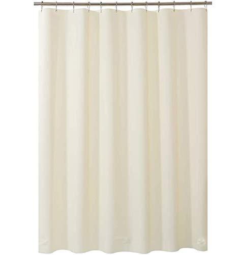 Plastic Shower Curtain, 72' W x 78' H EVA 8G Beige Shower...