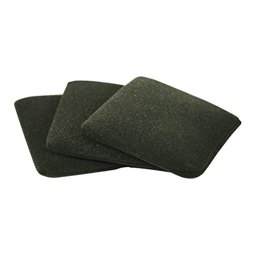 Schaumstofffilter, Nassfilter 3er-Pack (auswaschbar, wiederverwendbar) für Parkside Lidl Nass- und Trockensauger PNTS 1500 D5 - LIDL IAN 304887