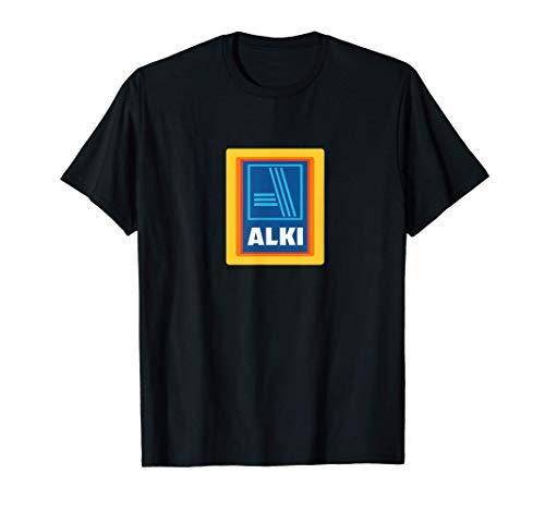 Alki T-Shirt | Lustiges Geschenk für Alkohol Liebhaber T-Shirt