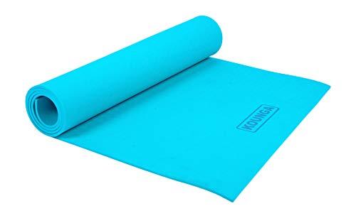 Kounga Mat Kid 5 Esterilla de Yoga, Unisex niños, Turquoise, One Size