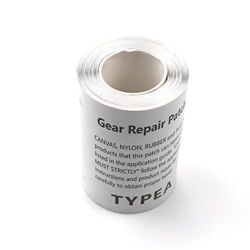 QKFON 10 st/1 rulle genomskinlig vattentät reparation film lappjackor svävare tält reparationstejp uppblåsbara produkter för luftsängar, uppblåsbara båtar, studsmattor, uppblåsbara soffor, simringar