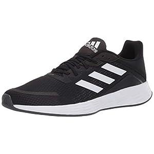 adidas Women's Duramo SL Running Shoe, Black/White/Grey, 7