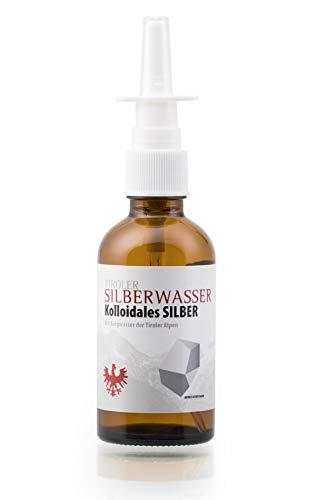 Tiroler Silberwasser, kolloidales Silber, 50ml Nasenspray - 23-25 ppm