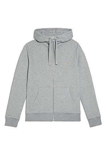 ARMEDANGELS GAABRIEL - Herren Sweatjacke aus Bio-Baumwoll Mix XL Grey Melange Sweatjacket Solid, Sweat Jacke Regular fit