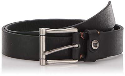 Florsheim Men's Gilmore Leather Dress Casual 28mm Belt, black, 42