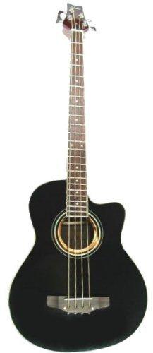 MPM Akustik Bass in schwarz