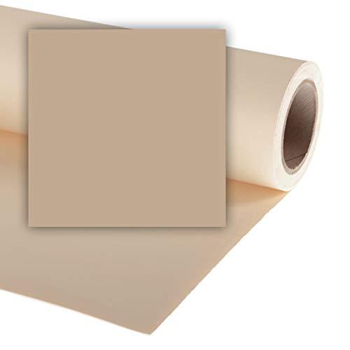Fondale fotografico in carta 2.72x11 metri marroncino cappuccino Natural il più usato in newborn e altri set a tema caldo