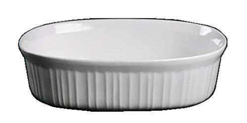 Ware French White Oval Casserole / No Lid ( 2 1/2 Quart ) (  ) - Corning F-2-B