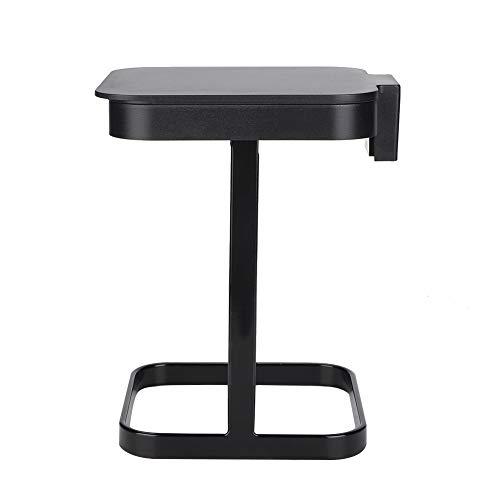Gmkjh Mini Cubo de Basura, Bote de Basura Mini Bote de Basura de Escritorio Cubo de Basura de Mesa para el hogar Cubo de Basura de Cocina(Negro)