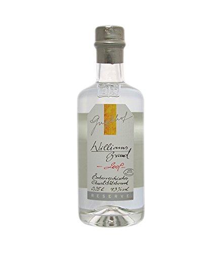 Guglhof: Williams Brand - Jahrgangsbrand / 43% Vol. / 0,35 Liter - Flasche