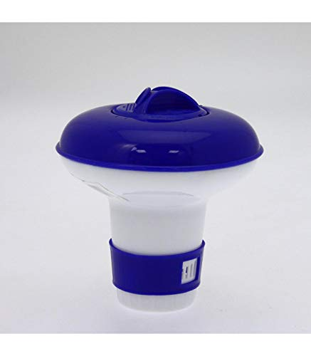 jja 735975 Diffuseur de Chlore Flottant, Blanc/Bleu