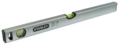 Stanley Wasserwaage Klassik (120 cm Länge, magnetisch, schlagfeste Blocklibelle, große Seitenlibelle) STHT1-43114