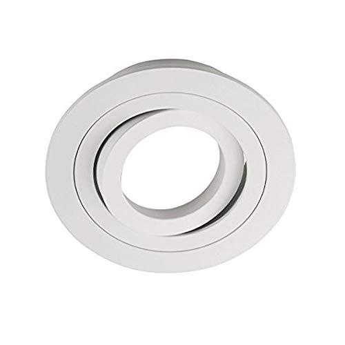 Wonderlamp Classic Spot Encastrable Rond Aluminium