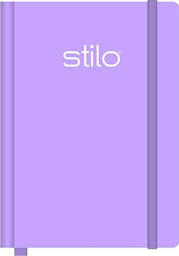 Caderno Anotação G 190X245MM Stilo Lilás Pastel 80 fls