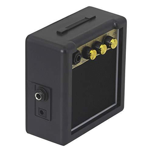 freneci Amplificador de Guitarra con Pilas de 3W, 9V Accesorios de Altavoz...