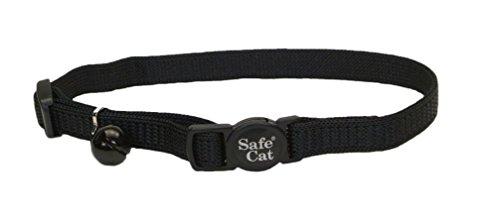 Coastal Pet Products Nylon Safe Cat Adjustable Breakaway Collar with Bells,...