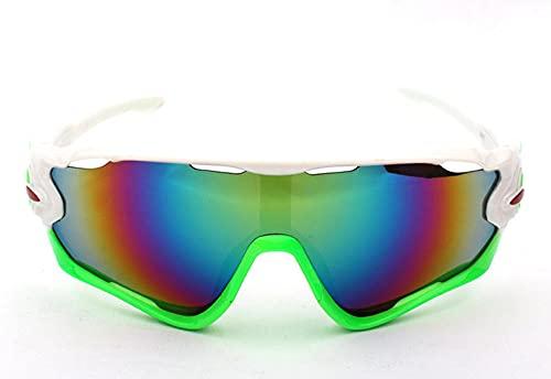 WQZYY&ASDCD Gafas de Sol Gafas De Ciclismo para Montar Gafas De Carretera Gafas Deportivas De Montaña MTB Al Aire Libre Gafas DeSol para Hombre Gafas De Bicicleta GafasGafas De Sol-1_