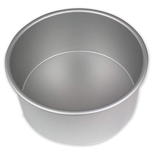 PME Redondo Molde para Pastel de Aluminio, Plateado, 17.8 cm