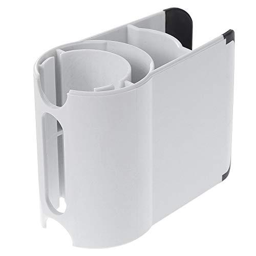 KEESIN Clip de sujeción para Soporte de Accesorios, Organizador de Soporte de Accesorios Antideslizante Compatible con aspiradora Dyson V11 V10 V8 V7 (White)