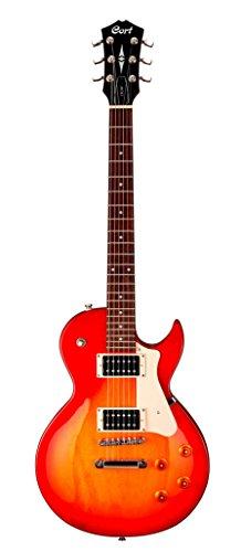 Cort CR100 Guitare électrique Single Cut Cherry Red Sunburst