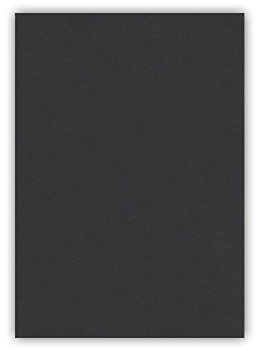 25 Blatt farbiges Premium Briefpapier Caribic Format DIN A5 ( 148 x 297 mm ) Farbe Briefbogen Schwarz, Karibik Papier (CAR-797)