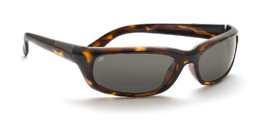 SERENGETI Coriano Gafas de Sol, Color Cristal Polar PhD CPG, Categoría Lente 2-3, Color Marrón