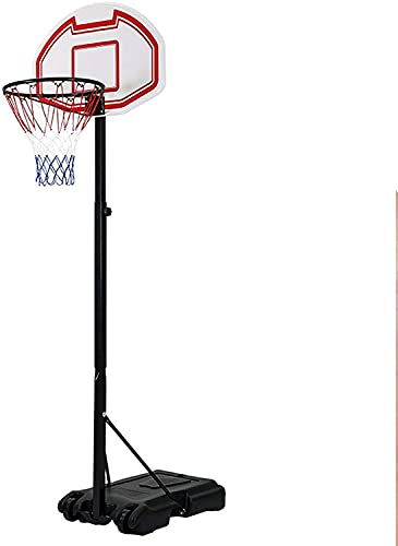 HEZHANG Llantas de Tablero de Baloncesto Ajustables, Capacitación para el Hogar de Adultos Aro de Baloncesto, Stand de Baloncesto Extraíble para Jóvenes con Rodillos Juegos de Mesa Arcade