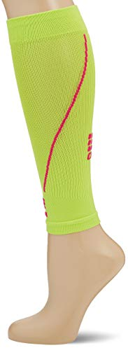 CEP - CALF SLEEVE 2.0   Beinstulpen für Damen in grün / pink Größe III   Beinlinge für exakte Wadenkompression