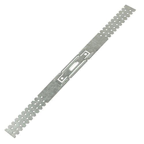 Direktabh/änger Holzlattung Deckenabh/änger U-Abh/änger CD-Deckenprofil Holzlatten 350 mm 50 St/ück MKK 17990-029