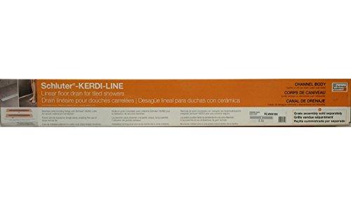 Schluter Kerdi-Line 48 in. Stainless Steel Bonding Flange