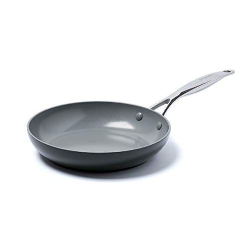 Greenpan Valencia 10-Inch Anodized Aluminum Ceramic Nonstick Fry Pan, Size One Size - Grey