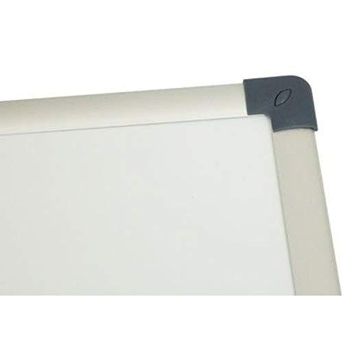 Vivol Eco Magnetic Whiteboard 100x150   Aluminium Rahmen   Magnettafel Whiteboardwand Magnetwand   Stiftablage   14 Größen   Magnetisch und Beschreibbar - 4
