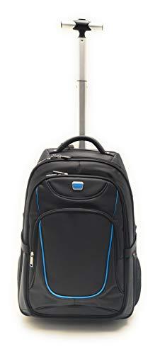 ZAINO TROLLEY EASYJET -Zainetto bagaglio a mano/da cabina, approvato. Il trolley da viaggio PIÙ LEGGERO AL MONDO - 44 litri - dotato di ruote. Appena 1.6 KG