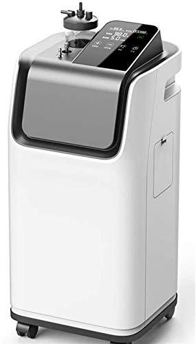 KOSGK Professionelle Sauerstoffmaschine, Sauerstoffkonzentrator 5LHome Sauerstoff-Atemgerät mit Zerstäubungsfunktion Ältere Schwangere Frauen tragbarer Gesundheitssauerstoff