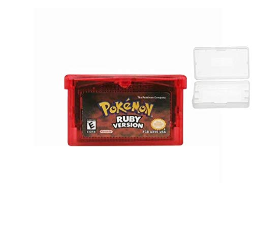 New Pokemon Ruby Version Reproduction Game Card Gameboy Cartridge For GBM GBA SP NDS NDSL