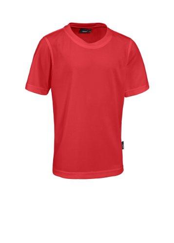 Maier Sports Kinder Shirt 1/2 Arm Piquee Programm, fire, 140, 352300_104