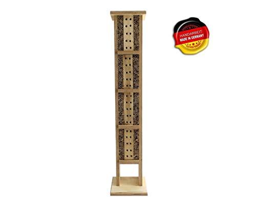 Jagdfallen Steingraf Bienenhotel XXL 100cm aus naturbelassenem Holz Bienenhaus Insektenhotel Nisthilfe für Bienen … (Bienenhotel XXL)