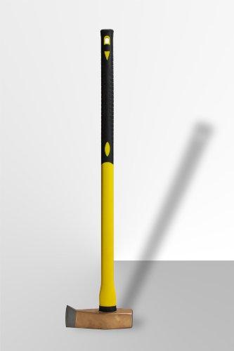 4. DEMA Spalthammer 3000g mit Fiberglas-Griff