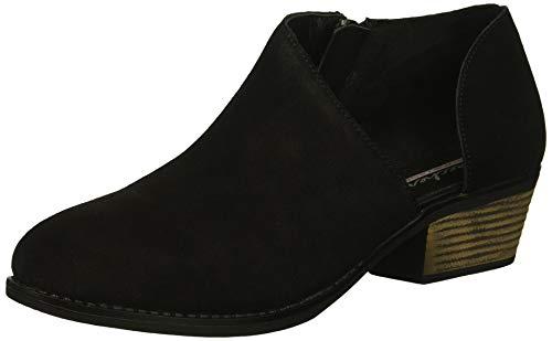 Skechers Damen Lasso - VACINITY - Short Asymmetrical Bootie Stiefelette, schwarz, 39 EU