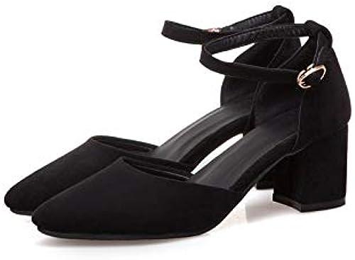 HommesGLTX Talon Aiguille Talons Hauts Sandales 2019 Nouvelle Arrivée Femmes Pompes Bout Pointu Chaussures D'été Simple Boucle De Cheville à Talons Hauts Chaussures Femme Chaussures Habillées