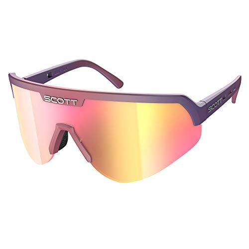 Scott Sport Shield Supersonic Fahrrad Brille lila/Chrome pink