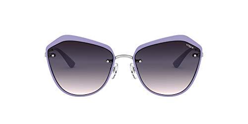 Vogue 0vo4159s Lentes, Violeta Plateado/Rosa Degradado Violeta Oscuro, 57 para Mujer