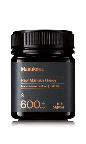 Manukora UMF 16+/MGO 600+ Raw Manuka Honey...