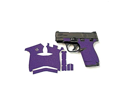 Handleitgrips Purple Sandpaper Gun Grip Tape Wrap for Smith and Wesson Shield