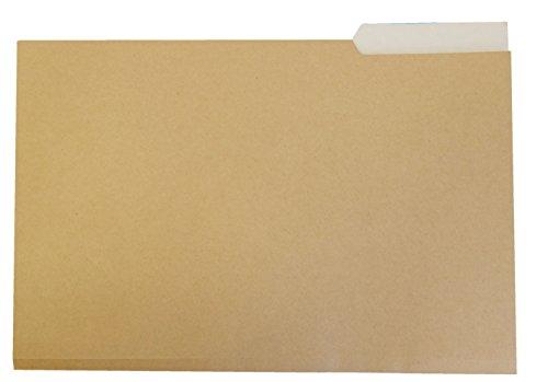 Elba Gio - Pack de 50 subcarpetas con pestaña derecha, bicolor