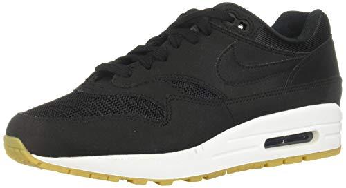 Nike Wmns Air Max 1, Scarpe da Ginnastica Basse Donna, Nero (Black/Black/Gum Light Brown 037), 41 EU