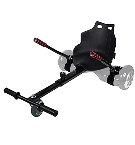 YOLEO Hoverkart para Hoverboard, Silla de Hoverboard, Asiento Hoverkart Go-Kart Silla Kart para Electric Self Balancing Scooter, Compatible con 6.5, 8 y 10 Pulgadas