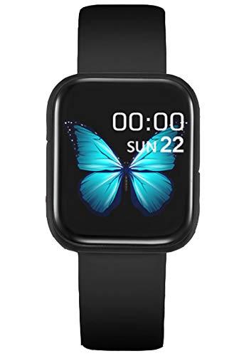 HUIMO Smart Watch, Fitness Tracker, Full Touch Screen Fitness Uhr für Männer und Frauen, Bluetooth Smart Watch, Nachricht Benachrichtigung / Mehrere Sport-Modi etc, geeignet für iOS und Android