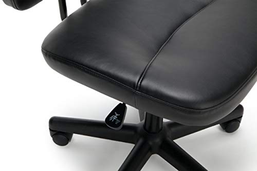 OFM ESS Collection Armless Leather Chair